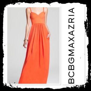 BCBGMaxazria Kyra Bodice Maxi Dress